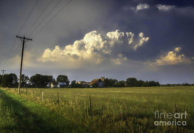 Photograph - Weather Over The Homestead by Fred Lassmann