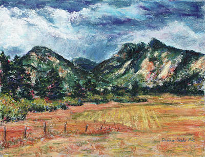 Painting - Weather To The West by Diana Wade