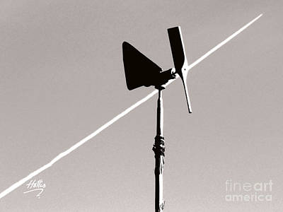 Art Print featuring the photograph Weather Vane by Linda Hollis