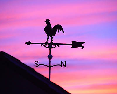 Digital Art - Weather Vane, Wendel's Cock by Jana Russon