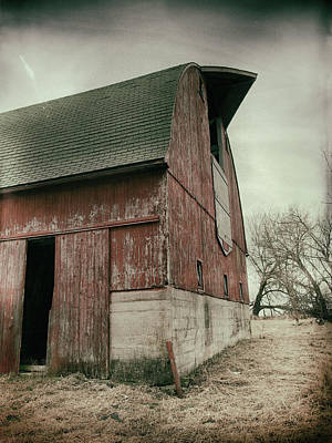 Photograph - Weathered ... by Tom Druin
