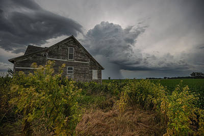Photograph - Weathered 4 by Aaron J Groen