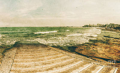 Photograph - Weathered And Bygone Ocean View by Jorgo Photography - Wall Art Gallery