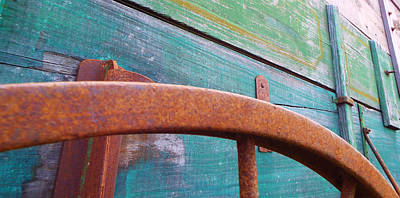 Photograph - Weathered And Rusty by Caryl J Bohn