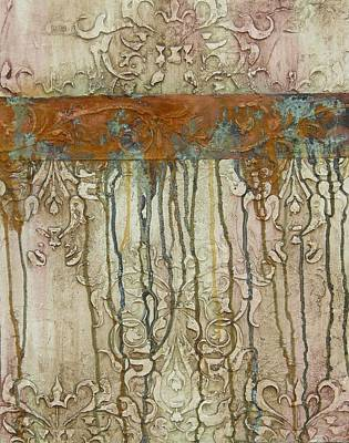 Copper Mixed Media - Weathered by Chris Brandley