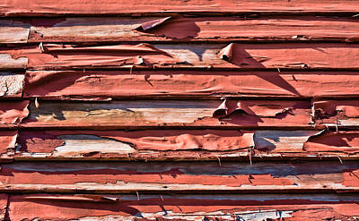 Photograph - Weathered Clapboard Siding by Greg Jackson