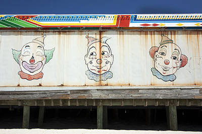 Photograph - Weathered Clowns by Mary Haber