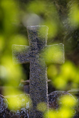 Photograph - Weathered Cross by Clare Bambers