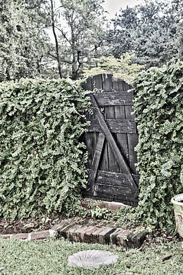 Photograph - Weathered Gate by Linda Brown
