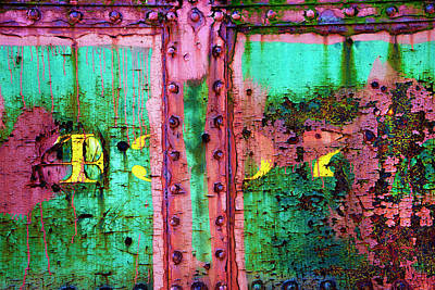 Photograph - Weathered Into History by Paul W Faust - Impressions of Light