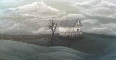 Bleak House Painting - Weathered by Lacey Roberts