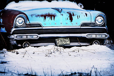 Photograph - Weathered Lincoln by David Millenheft