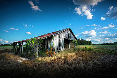 Barn Landscape Photograph - Weathered by Marvin Spates