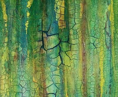Weathered Moss Art Print