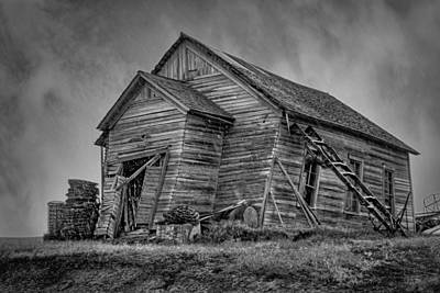 Wood Siding Photograph - Weathered by Nikolyn McDonald