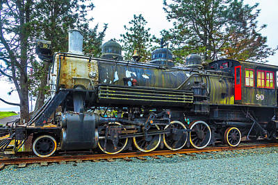 Weathered Old Train Art Print by Garry Gay