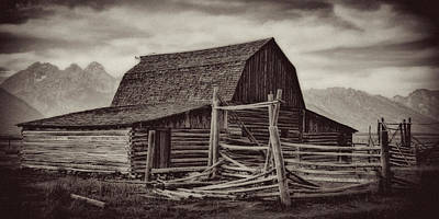 Photograph - Weathered Peaks by Lana Trussell