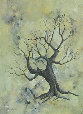 Painting - Weathered Tree 1 by Sandy Clift