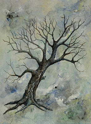 Painting - Weathered Tree 2 by Sandy Clift