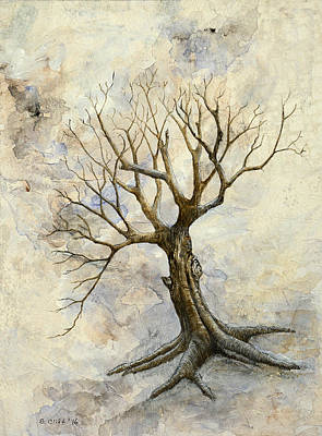 Painting - Weathered Tree 3 by Sandy Clift