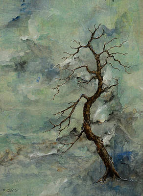 Painting - Weathered Tree 5 by Sandy Clift