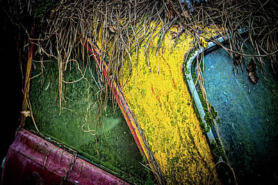 Photograph - Weathered Vehicle by Rod Kaye