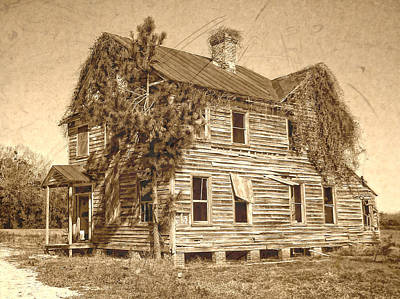 Photograph - Weathered by Victor Montgomery