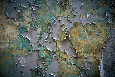 Photograph - Weathered Wall 2 by Scott Meyer