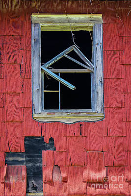 Photograph - Weathered Window  by Colleen Kammerer