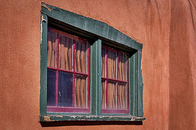 Photograph - Weathered Window - Santa Fe by Stuart Litoff