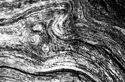 Photograph - Weathered Wood 2 by Jeff Montgomery