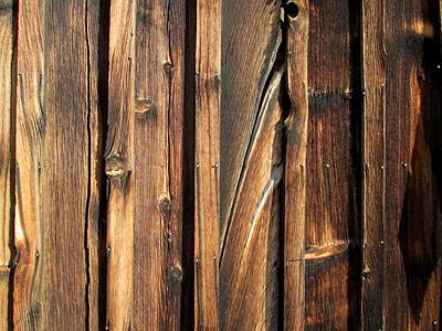 Photograph - Weathered Wood by Dreamweaver Gallery
