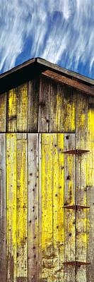 Santa Barbara Photograph - Weathered Wooden Barn, Gaviota, Santa by Panoramic Images