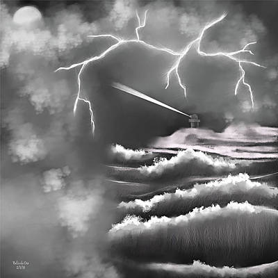 Digital Art - Weathering The Storm by Artful Oasis