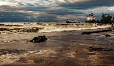 By Jackie Photograph - Weathering The Storm by Jackie Sajewski