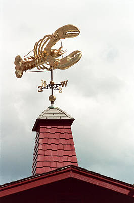 Weathervane - Lobster Print by Wayne Sheeler