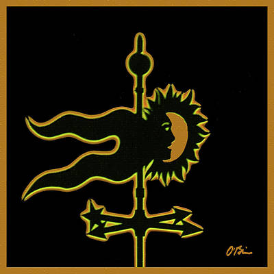 Weathervane Whimsy Art Print