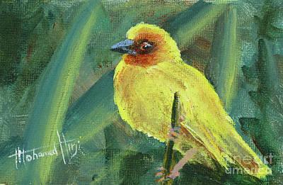 Weaver Bird Art Print