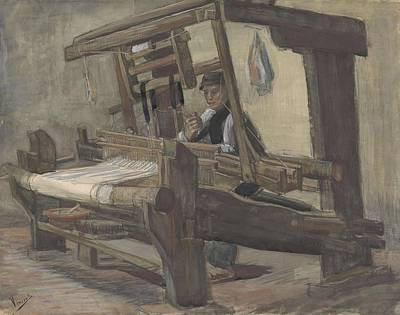 Painting - Weaver Nuenen, December 1883 - August 1884 Vincent Van Gogh 1853 - 1890 3 by Artistic Panda