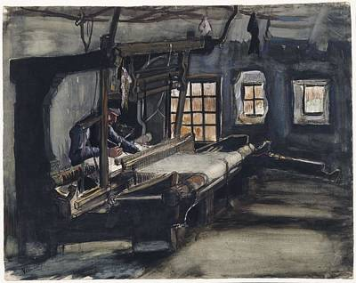 Painting - Weaver Nuenen, December 1883 - August 1884 Vincent Van Gogh 1853 - 1890 by Artistic Panda
