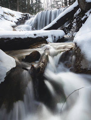 Owens River Photograph - Weavers Creek In Winter by Cale Best