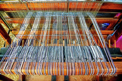 Photograph - Weavers Loom by David Arment