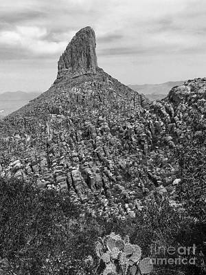 Photograph - Weaver's Needle II by Sean Griffin