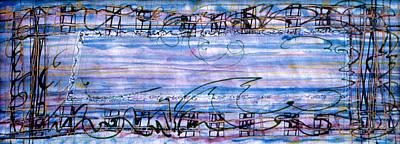 Weaving Evening Art Print by Tom Hefko