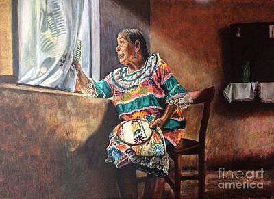 Weaving Returns Art Print by Judith Zur
