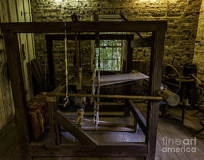 Photograph - Weaving Room by Ken Frischkorn