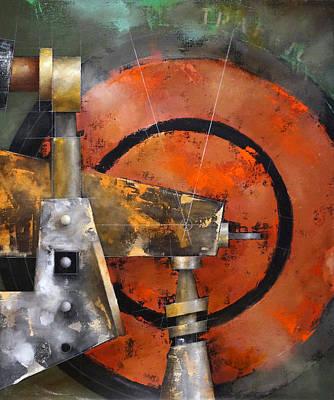 Painting - 15.010 - Weaving Through Traffic by Ken Berman
