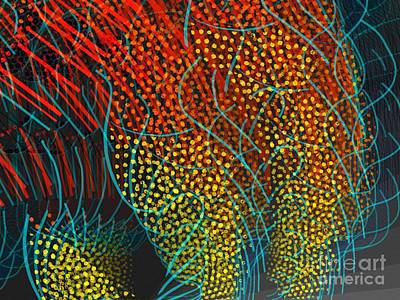 Digital Art - Web by Cooky Goldblatt