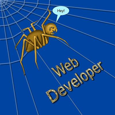 Digital Art - Web Developer by Vincent Autenrieb