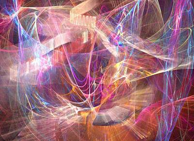 Digital Art - Web Of Life by Helene Kippert